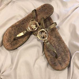 {MK Jelly Sandals}